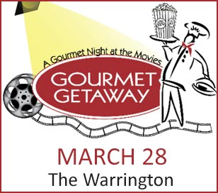 The Women in Business Committee of the Central Bucks Chamber of Commerce is pleased to present A Gourmet Night at the Movies. In its 26th year, the Gourmet Getaway promises to be a spectacular evening of food, fun, and drinks that pay tribute to your favorite films of all time, with the proceed directly benefiting women in our community who have overcome significant challenges to create a better life for themselves and their families and are in need of financial support to pursue their education. Your support of this event through sponsorship, the purchase of tickets, or the donation of a raffle or auction item will ensure that the courageous women who are awarded scholarships have the opportunity to thrive personally and professionally.