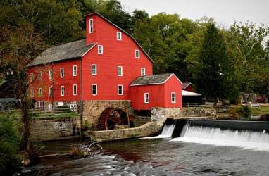 Red Mill Museum Village in Clinton NJ